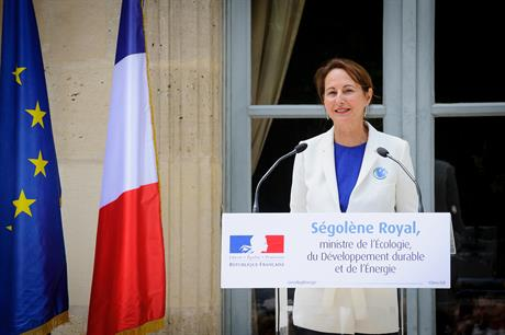 France's energy minister Ségolène Royal announced competitive tendering for 3GW of onshore wind