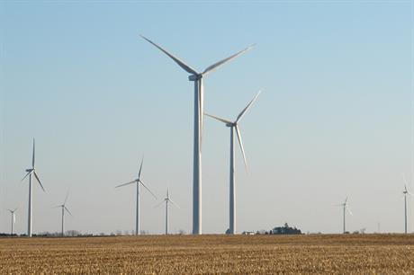 The 25 leading wind-asset owners have seen market share fall in recent years