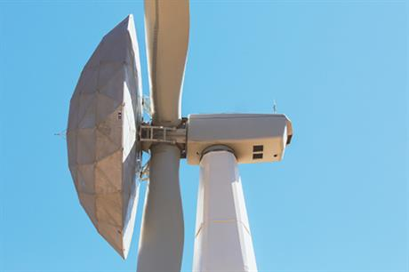 GE has installed the ecoROTR on a 1.7MW turbine in Tehachapi, California
