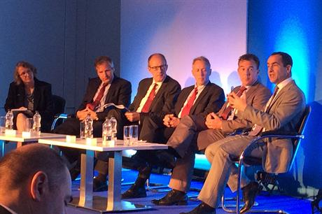 Piers Guy, second from left, said consolidation of OEMs is worrying