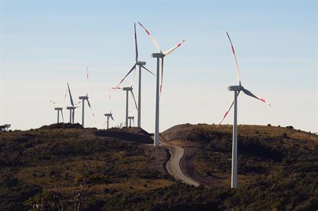 "Wind expected to ""almost universally""  be cheapest form on new energy generation by 2026"