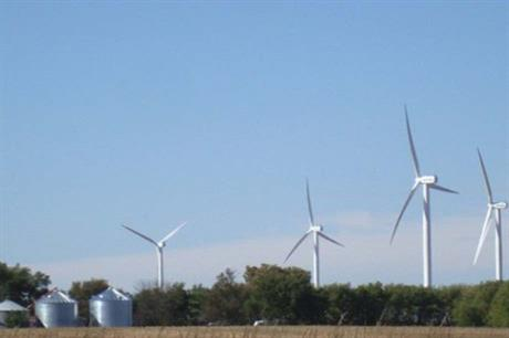 Geronimo's Marshall wind farm in Minnesota