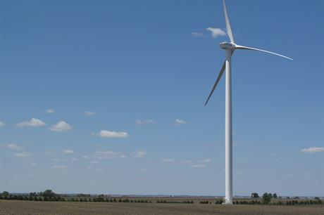 Goldwind's 2.5MW (pictured) and 3MW turbines will be installed across the Wyoming cluster