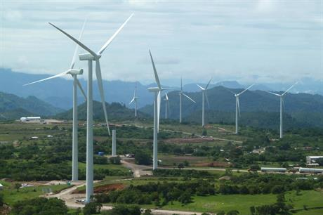 The original Cerro de Hula wind farm