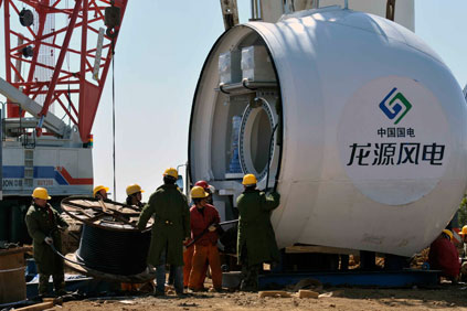 An increase in wind installations helped Longyuan in H1
