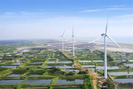 Ming Yang turbines