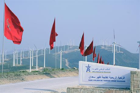Morocco has 787MW of online wind capacity, including the 140MW Tangier project