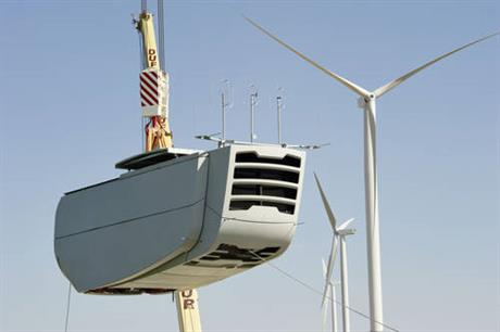 Nordex will install its N100/2500 turbines on the project