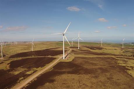 Scottish developer Community Windpower will provide half of Nestlé's UK and Ireland power needs
