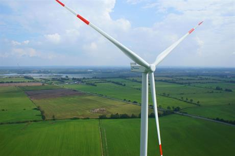 Nordex's N117 3MW turbine will be installed at three of the four projects