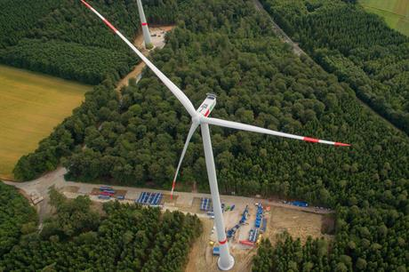 The turbine in southwest Germany will be joined by two of the same models, the project operator said