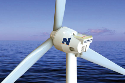 NPS has designed an 8MW turbine