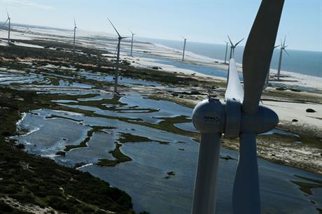 Auctions are hoped to continue 2GW annual growth of wind power in Brazil