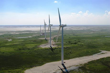 Pattern operates the Gulf wind project in Armstrong Texas