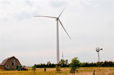 The Post Rock Wind site was commissioned in 2012 (pic: Westar Energy)