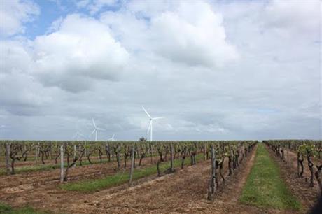 EDPR's portfolio includes the 15MW Pièces de Vignes project in Central France
