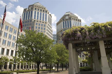 Proctor and Gamble's headquarters in Cincinnati, Ohio