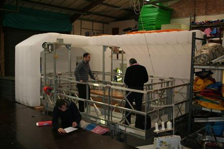 Gallery: GEV Habitat platform prototype