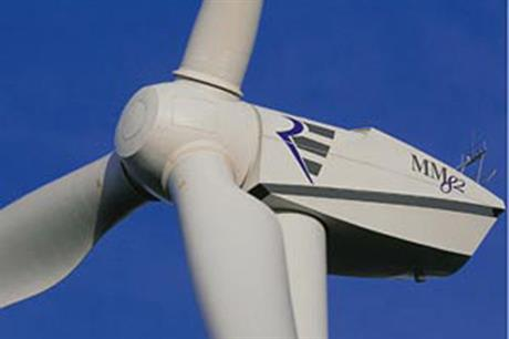The MM82 will feature on some of the wind farms