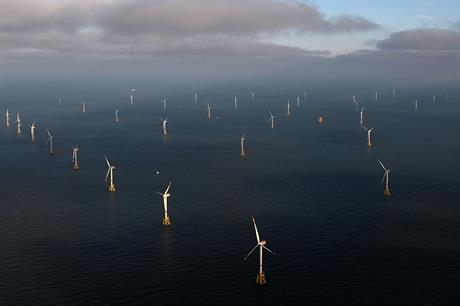 RWE's Nordsee Ost in the German North Sea was placed fully online in May