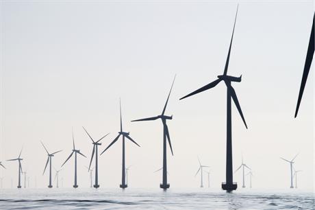 Rødsand II wind farm, Denmark