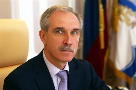 Ulyanovsk governor Sergei Morozov