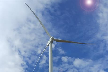 SGRE installed the 33 turbines on 153-metre towers