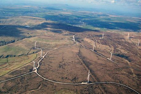 The company has developed projects including the 65MW Scout Moor
