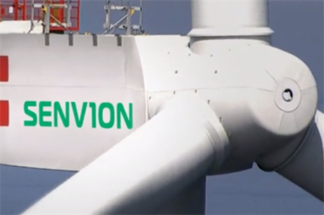 Senvion's range includes its 126-6.2MW turbine