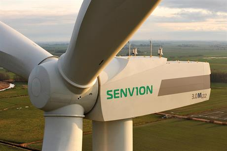 Senvion will deliver six 3MW turbines to the project in southern Italy