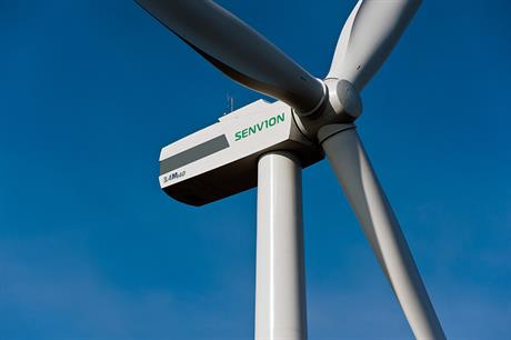 New 3.4MW turbine is helping to swell Senvion's order book
