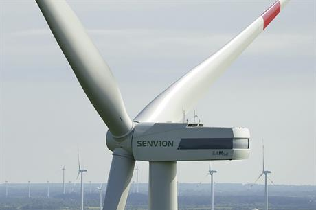 Senvion has unveiled an upgrade to the 3.4MW turbine already available in the US and Canada
