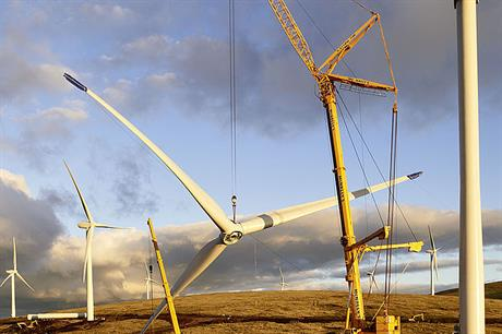 Senvion's MM82 turbine will be installed at the project on the west coast of Scotland