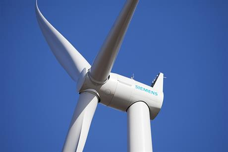 Siemens has taken orders for 42 of its 3MW direct-drive turbines from Italy this year