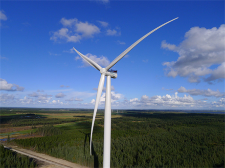 Siemens will install its 3MW direct-drive turbine at the project