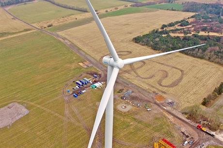Siemens has won the first order for its new 3.15MW low-wind turbine