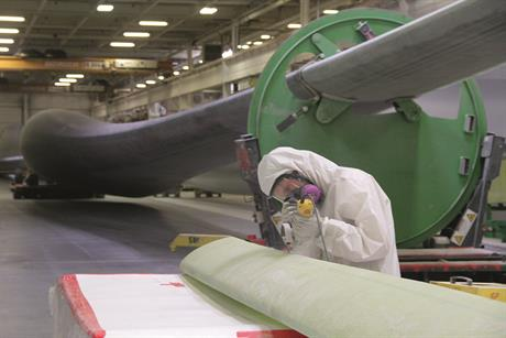 SGRE's Tillsonburg factory has produced over 2,500 blades since 2011 (pic: David Dodge, greenenergyfutures.ca)