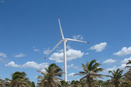 Brazil's turbines produced enough electricity to power 27 million homes (pic: Suzlon)