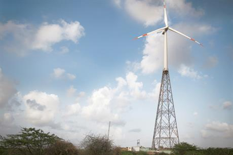 Eleven turbines will be installed on Suzlon's hybrid tower