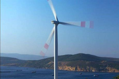 Wind projects have proliferated along Turkey's west coast