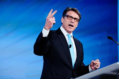 As Texas Governor, Rick Perry oversaw massive wind expansion, but still relied on fossil fuels