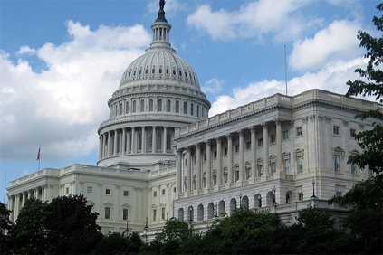 The US Senate has blocked the bill in protest over amendment negotiations