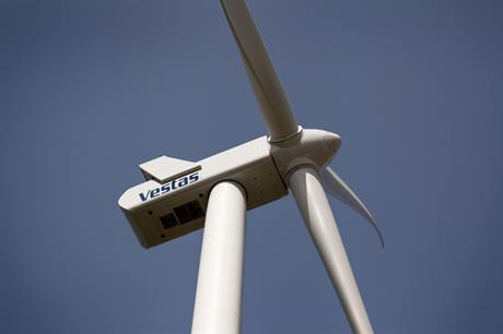 Vestas V110 2.0MW turbine will be used at the Kansas project