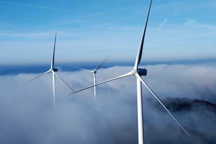 Vestas V90 turbines in action