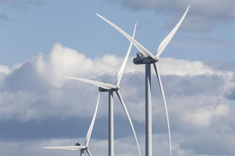Vestas' V126-3.45MW turbine will be installed at Apple Blossom