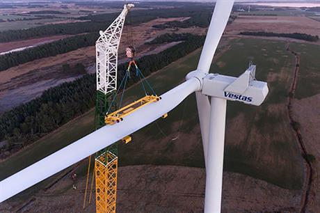 Vestas is set to supply its V136 turbine to the 443MW Reynosa III project in Mexico