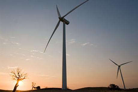 Vestas' V100 2MW is being used at the 150MW Origin project in Oklahoma