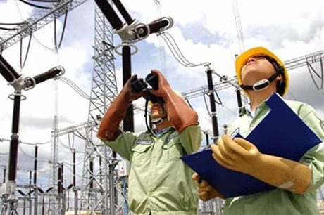 ERAV workers inspect grid infrastructure