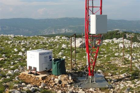 The system was tested at a project in Bosnia and Herzegovina