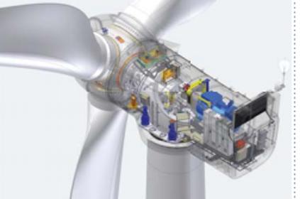 AMSC's 2MW turbine design